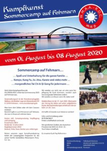 Kampfkunst Sommercamp auf Fehmarn @ Strandcamping Wallnau