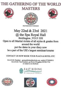 The Gathering of the World Masters 2021 @ Spa Royal Hall