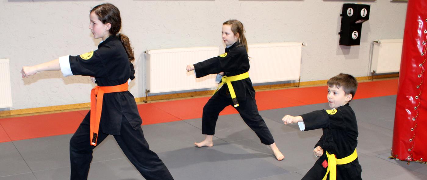 Kung-Fu für Kinder ab 3 Jahre